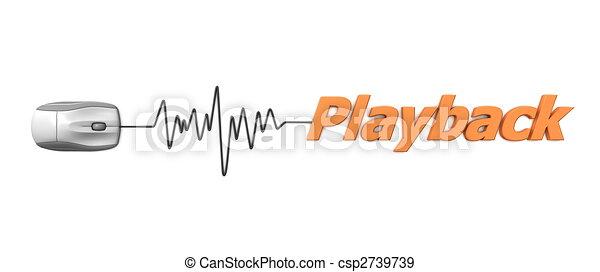 Ï¿½, maus, playback, wort, orange. Über, wort, kabel, maus, grau ...