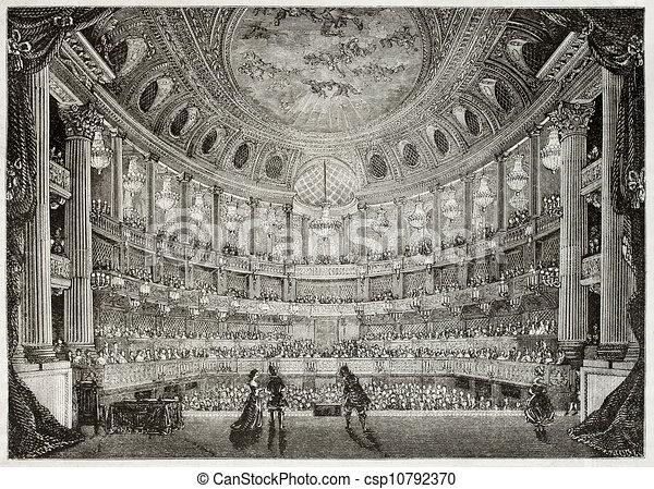 La ópera real de Versalles - csp10792370