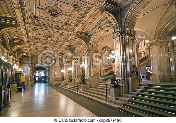Opera de Viena - csp2679190