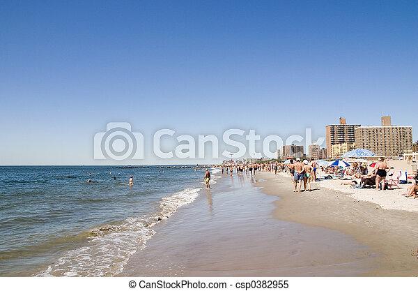 ö, strand., kaninskinn - csp0382955