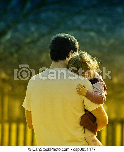 ön, papa, szeret - csp0051477