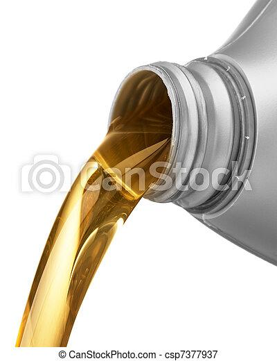 öntés, olaj - csp7377937