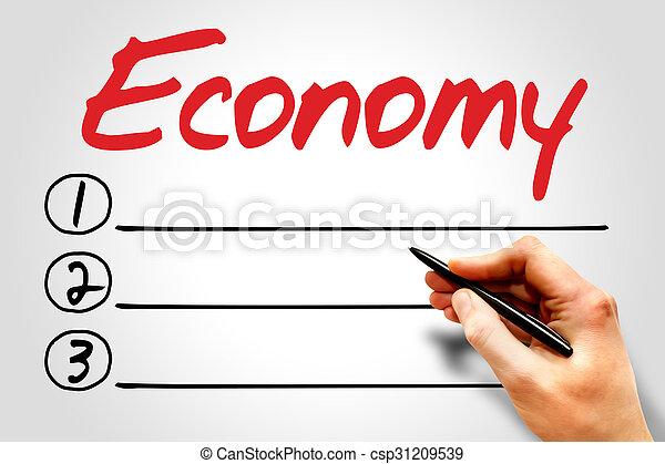 økonomi - csp31209539