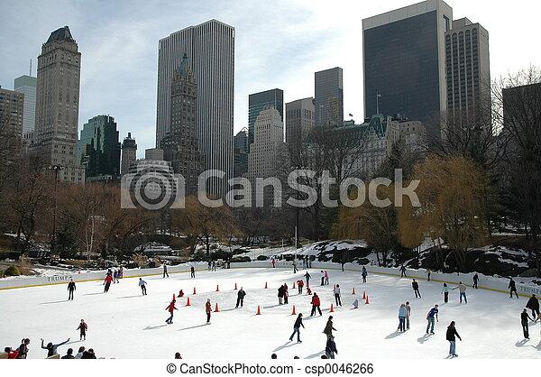 új, iceskating, york - csp0046266