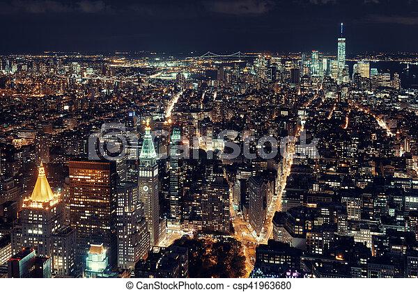 új york város - csp41963680
