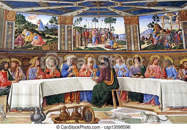La última cena - csp13098596