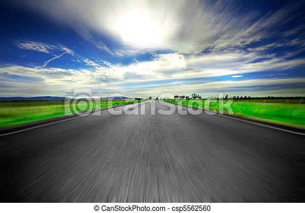 út, előre - csp5562560