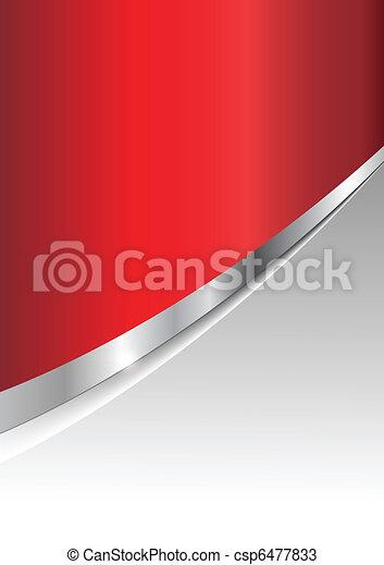 ügy, háttér, piros, ezüst - csp6477833