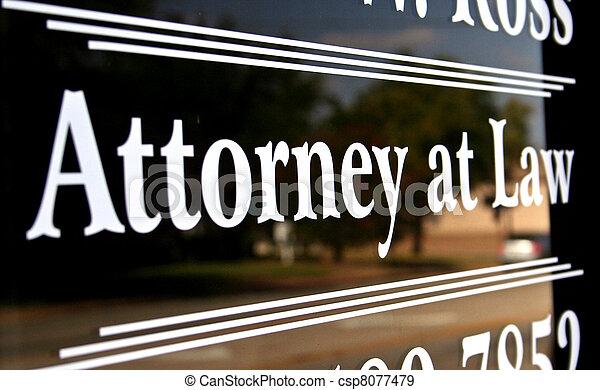 ügyvéd, törvény - csp8077479