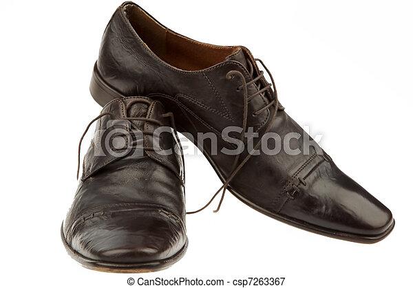 üzletember, bábu cipő - csp7263367