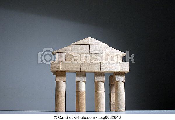 čelo, starobylý, chrám - csp0032646