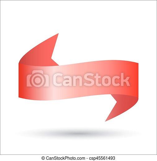 červené šaty lem - csp45561493