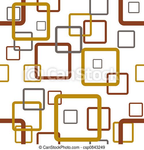 čtverec, hladký, za - csp0843249