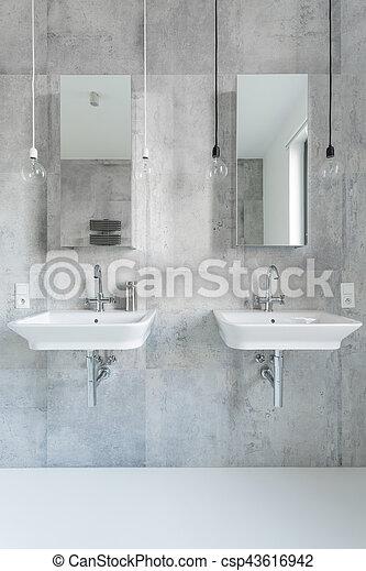 łazienka Nowoczesny Biały Marmur