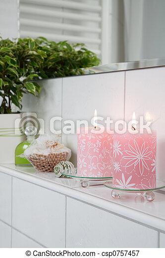 łazienka, szczegół - csp0757457