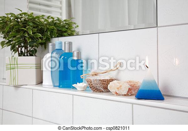 łazienka, szczegół - csp0821011