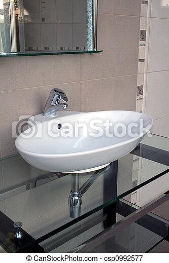 łazienka, szczegół - csp0992577