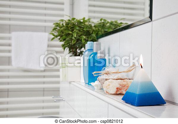 łazienka, szczegół - csp0821012