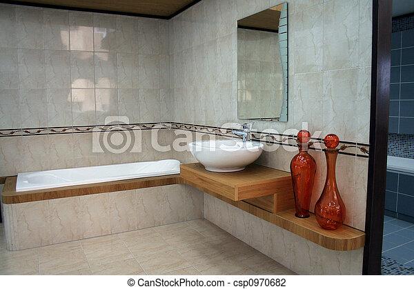 łazienka, szczegół - csp0970682