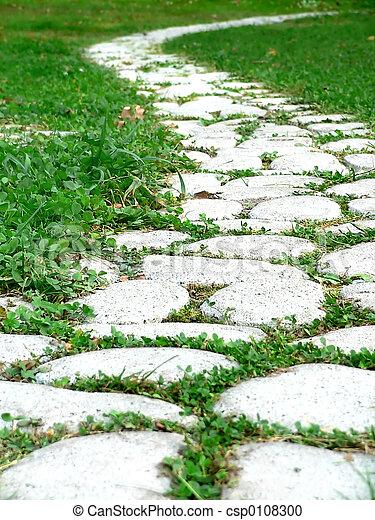 ścieżka, ogród - csp0108300