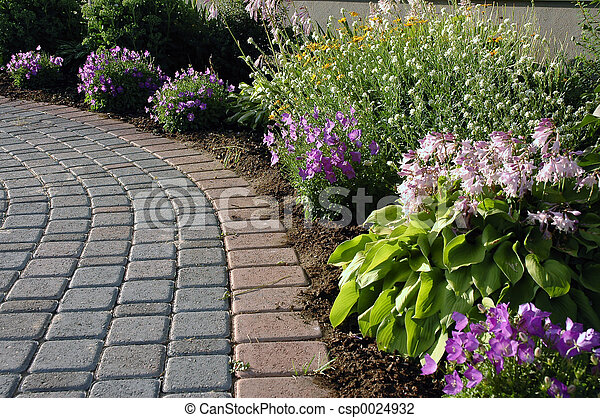 ścieżka, ogród - csp0024932
