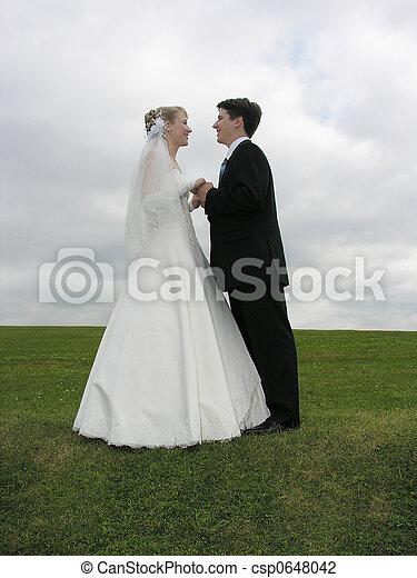 ślub, twarz - csp0648042
