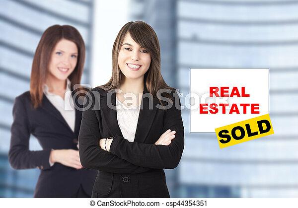 środowisko, miejski, handlowy zaludniają - csp44354351