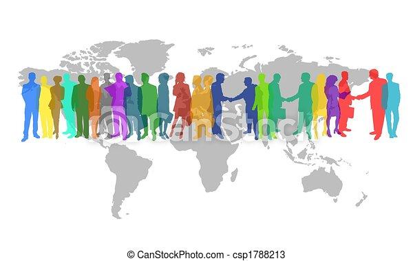 świat handlowy - csp1788213