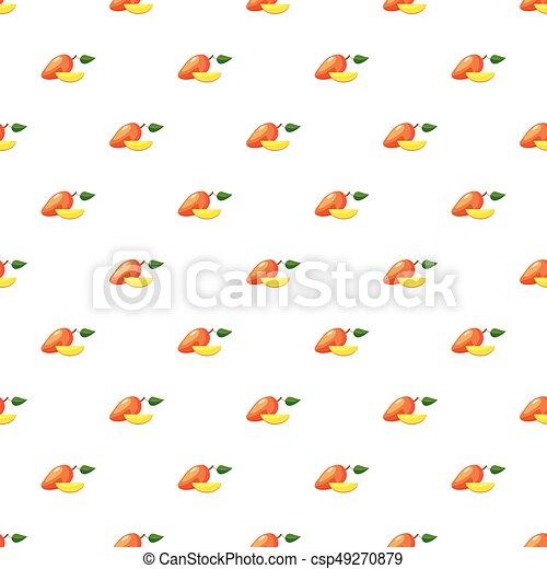 świeży, mangowiec, próbka - csp49270879