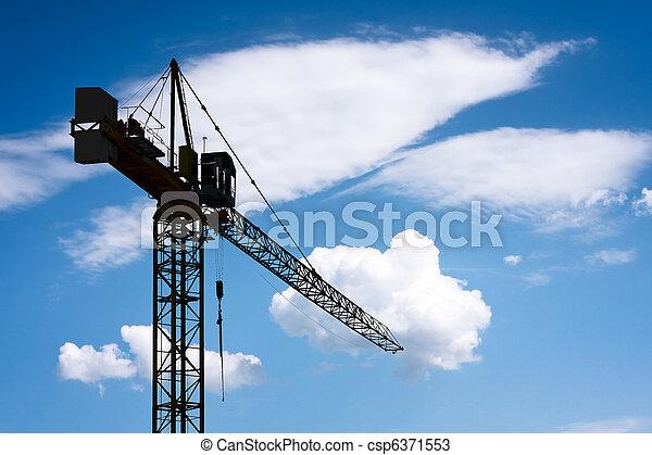 żuraw zbudowania - csp6371553