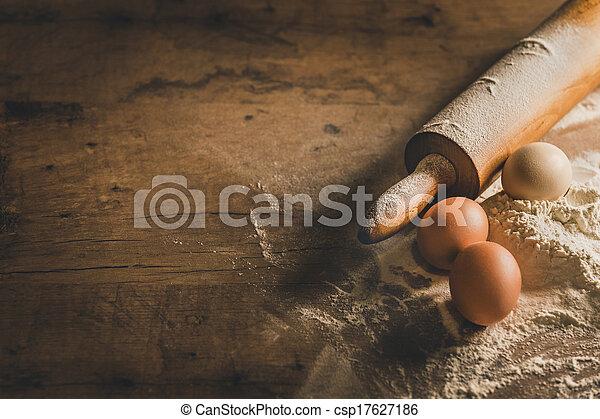 άγαρμπος βάζω στο τραπέζι , ψήνω , εξοπλισμός  - csp17627186