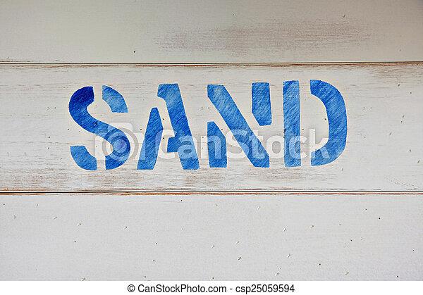άμμοs  - csp25059594
