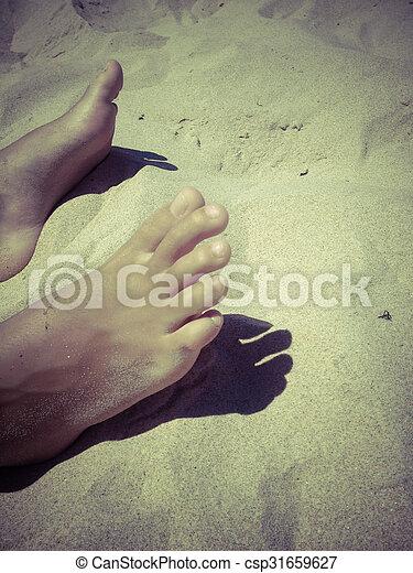 άμμοs  - csp31659627