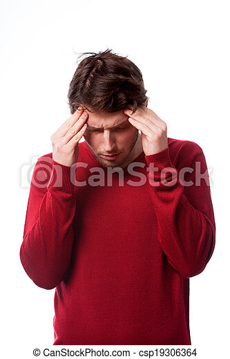 άντραs , πονοκέφαλοs  - csp19306364