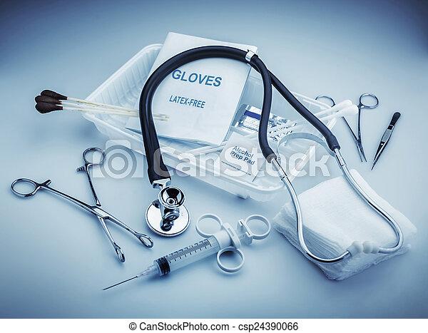 έγγραφο , ιατρικός  - csp24390066