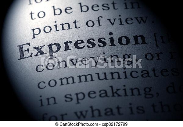 έκφραση  - csp32172799