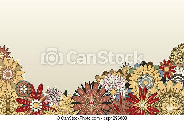 έμπροσθεν μέρος , λουλούδι  - csp4296803