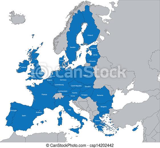 ένωση , χάρτηs , ευρωπαϊκός  - csp14202442