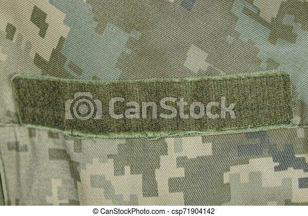 έχων στίγματα , στρατιωτικός , ρουχισμόs , velcro  - csp71904142