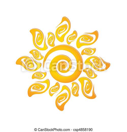 ήλιοs  - csp4858190