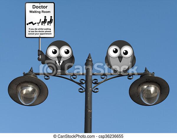 αίθουσα αναμονής , γιατρός  - csp36236655