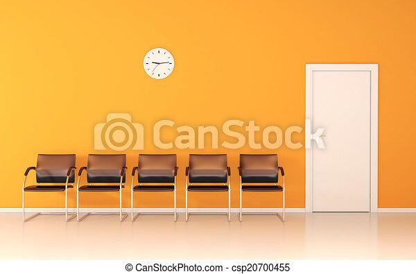αίθουσα αναμονής  - csp20700455