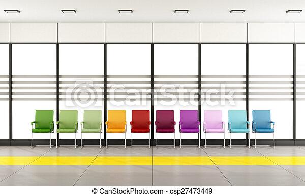 αίθουσα αναμονής  - csp27473449