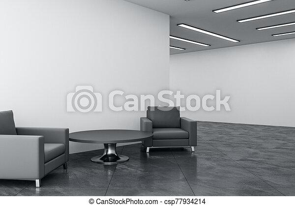 αίθουσα αναμονής , σύγχρονος  - csp77934214