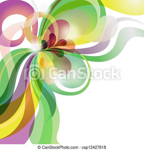 αγάπη , εορταστικός , αφαιρώ , θέμα , φόντο , γεμάτος χρώμα  - csp12427618