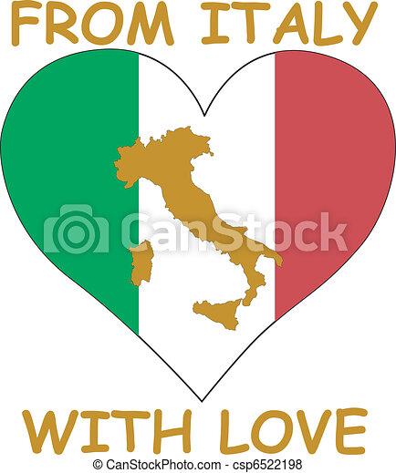 αγάπη , ιταλία  - csp6522198