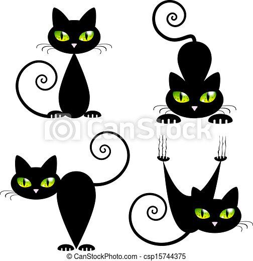 Το μαύρο μουνί γάτα
