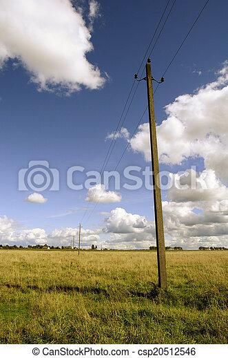αγροτικός γραφική εξοχική έκταση  - csp20512546