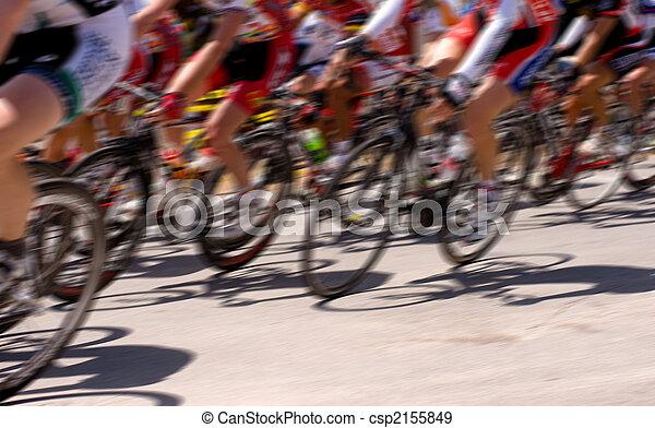 αγώνας , ποδήλατο  - csp2155849