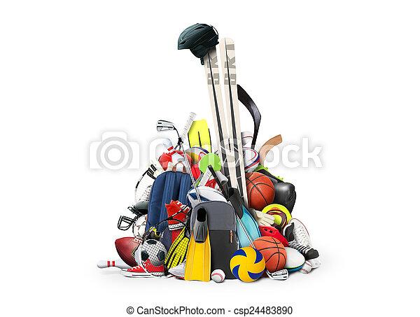 αθλητισμός  - csp24483890
